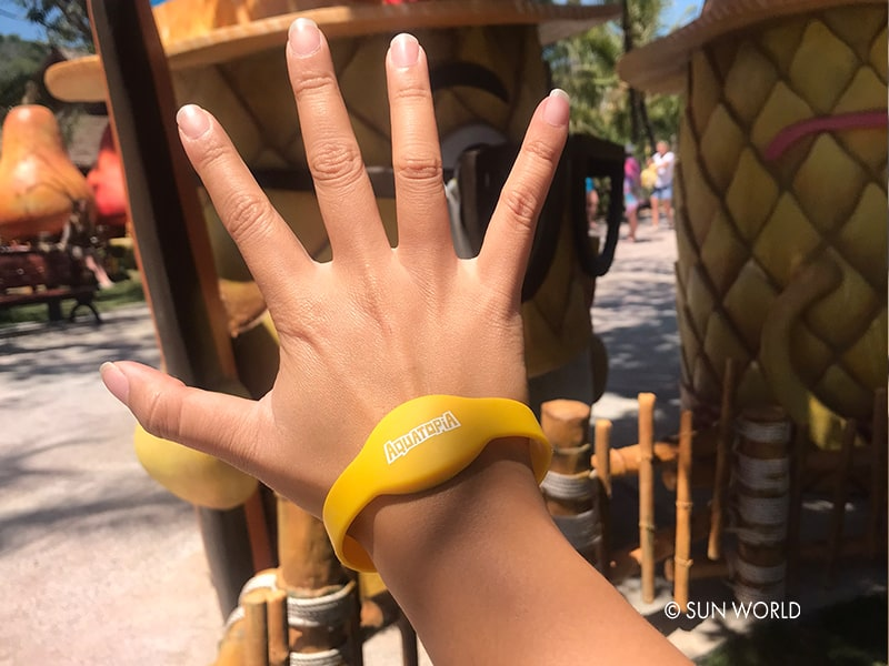 "Admission ticket to the ""Forgotten Island"" is a smart bracelet, helping tourists to avoid the risk of losing their assets during the fun trip."
