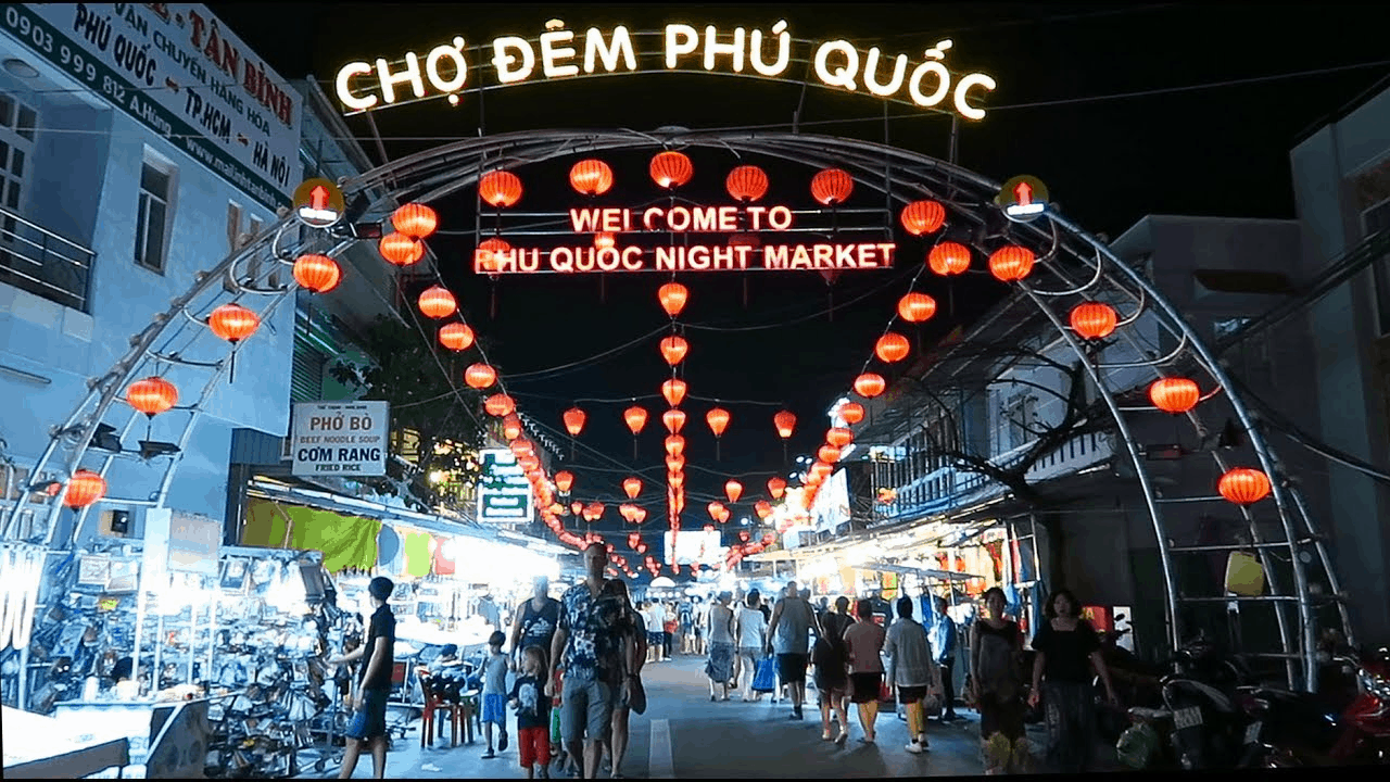 Enjoying a variety of fresh seafood at Phu Quoc night market
